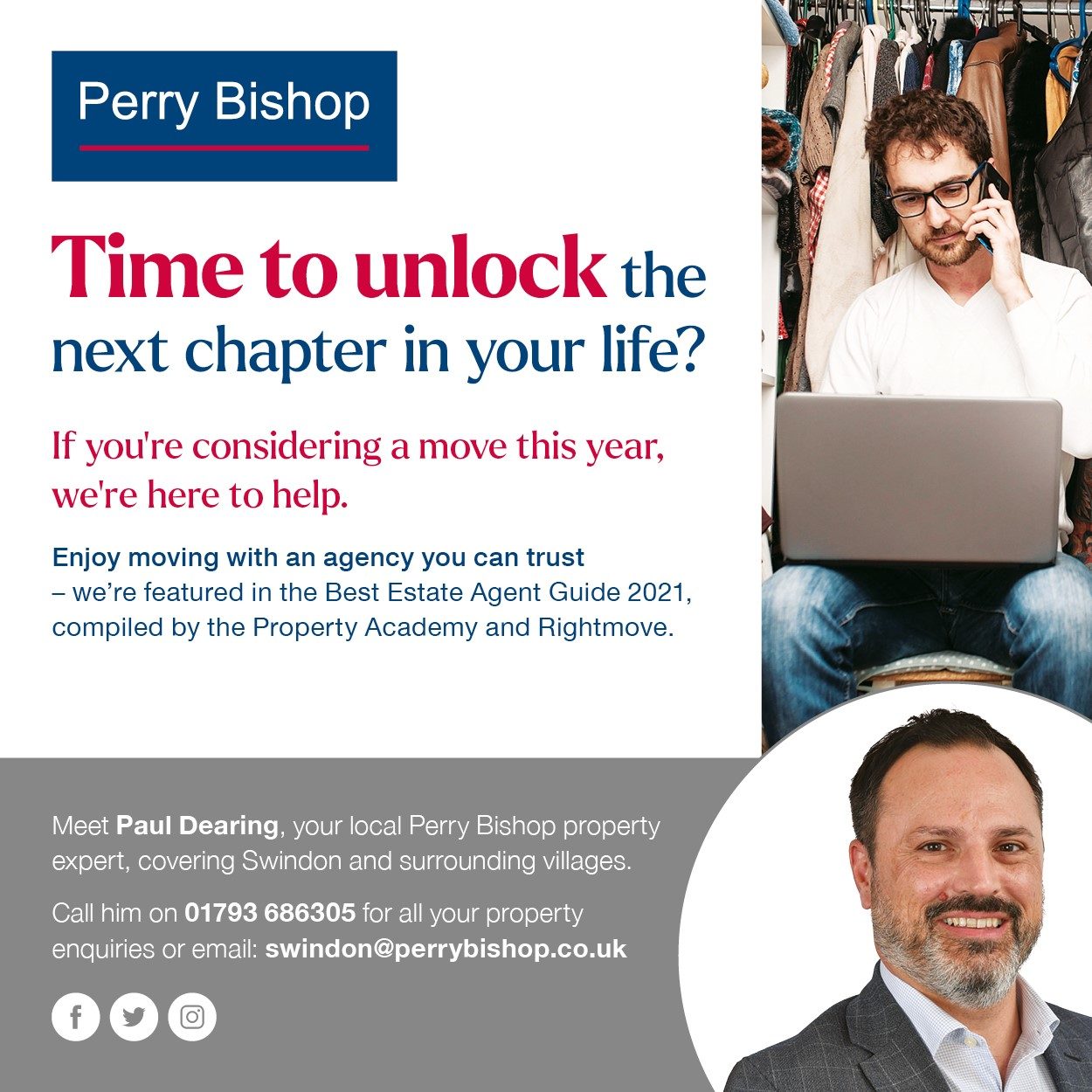 Perry Bishop April 21 - Jan 22