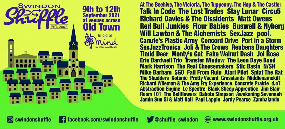 Swindon will be shufflin' again this September