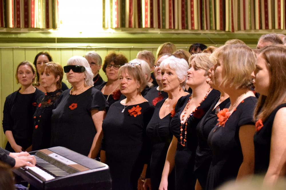 Rousing voices to raise funds for Prospect Hospice