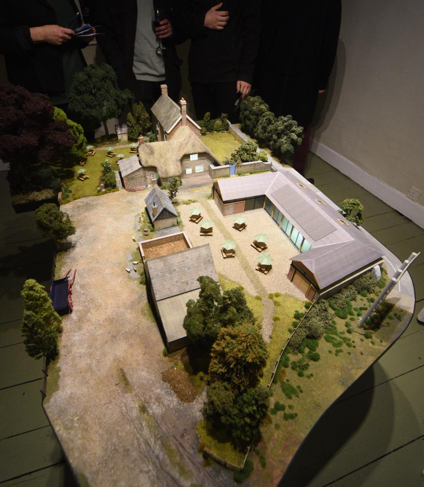 GALLERY: Richard Jefferies Museum unveils proposals for extension