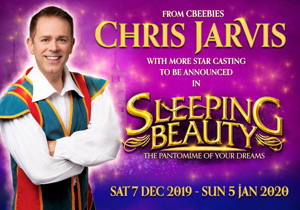 Cbeebies' Chris Jarvis to star in the Wyvern Theatre's Pantomime