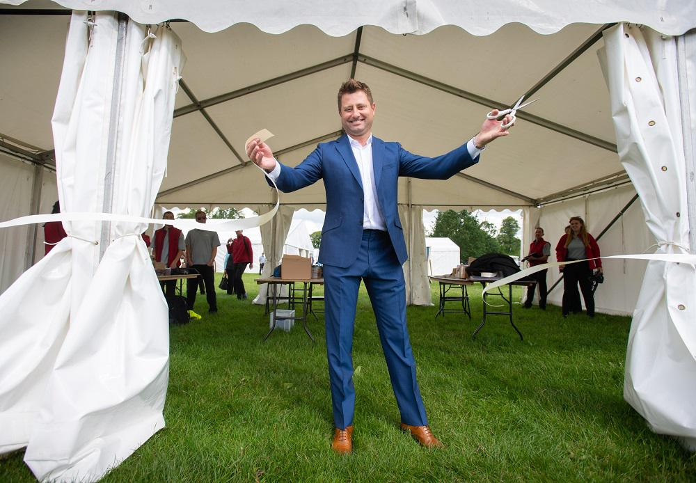George Clarke opens 2019 show