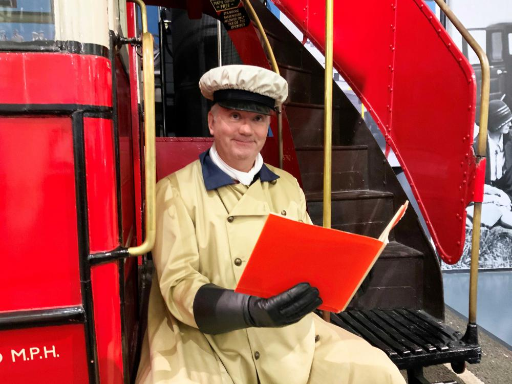Bessie the Bus author James Ellison - a reading of his book is part of the museum's online programme of events