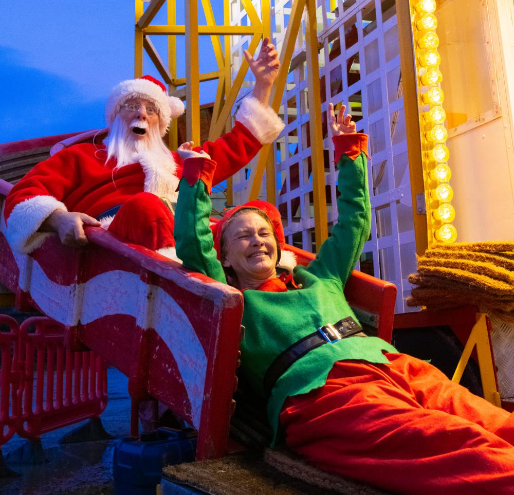 Event firms join forces to create Santa experience