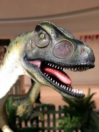 Dinosaurs let loose at Swindon's Outlet Village