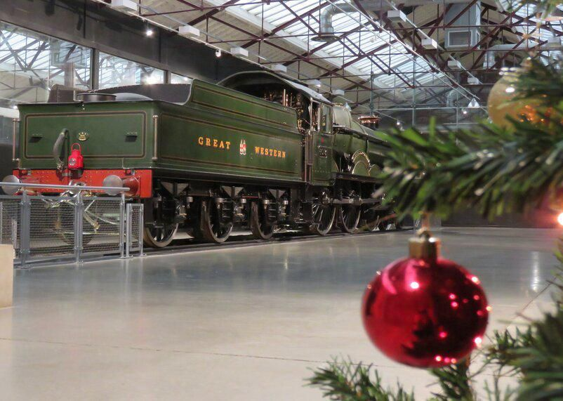 Swindon's Steam Museum now open for festive visits