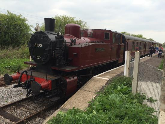 Swindon and Cricklade Railway to raise £100,000 for renovations on new phase of their train line.