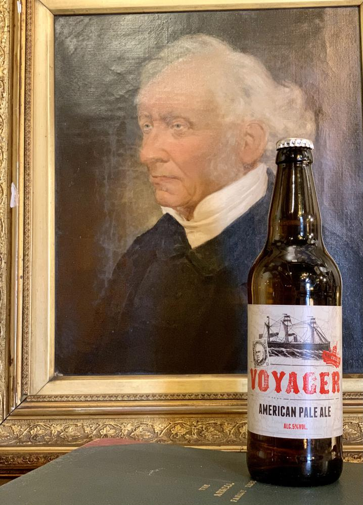 Arkell's Brewery unveils new premium American Pale Ale; Voyager