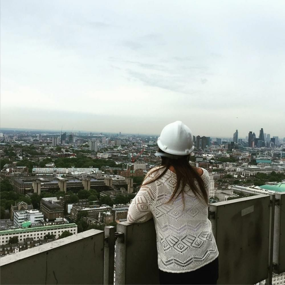 Bethany Preston contemplates a bright future - and the view from the BT Tower