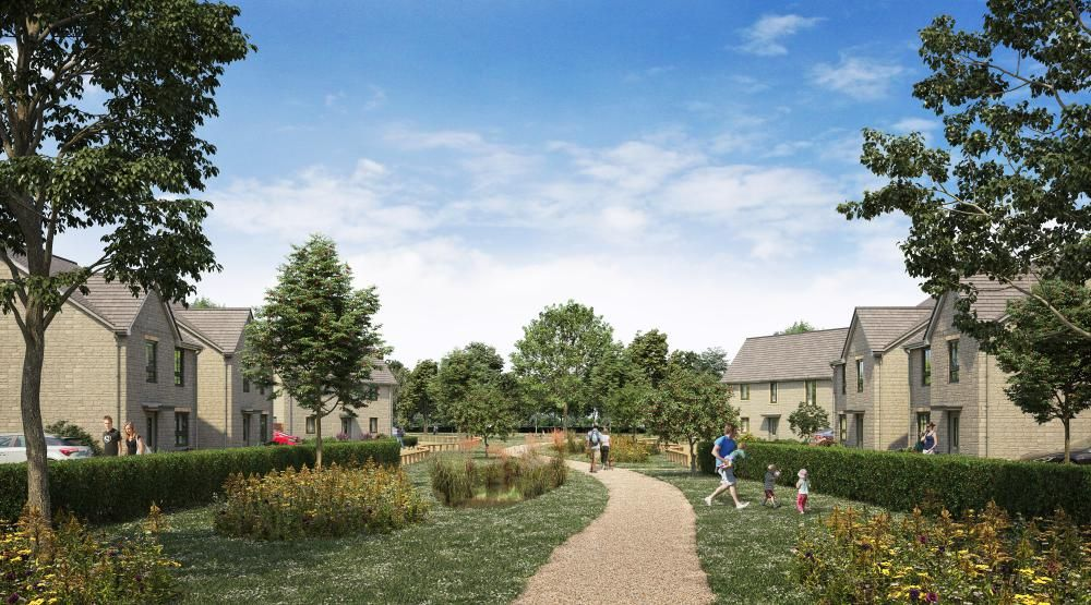 CGI images of proposed new homes at The Orchards, Wichelstowe