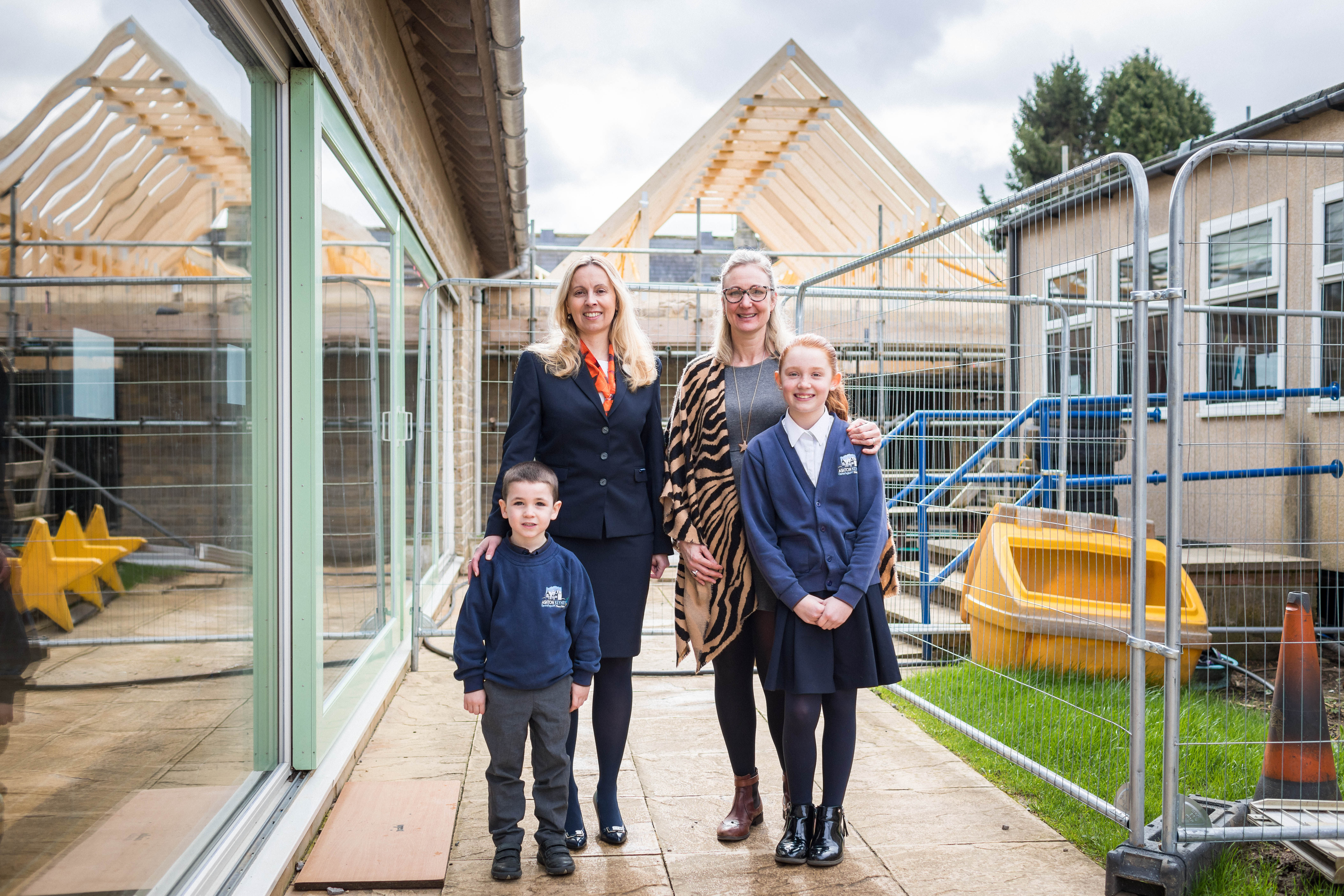Class act from housebuilder helps school's building project