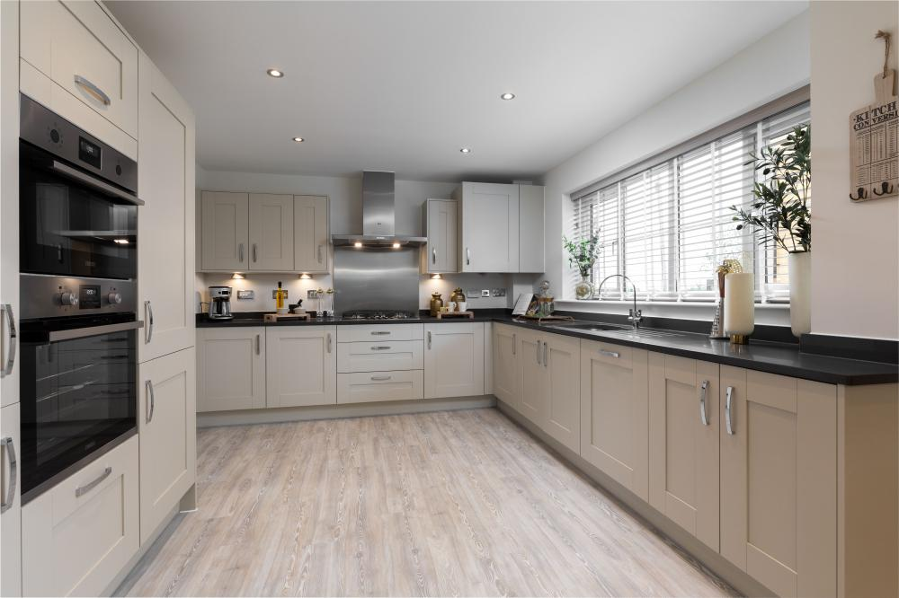 Bellway showhome in South Marston open