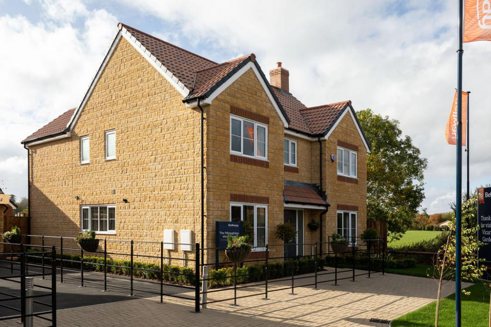 South Marston development has first residents