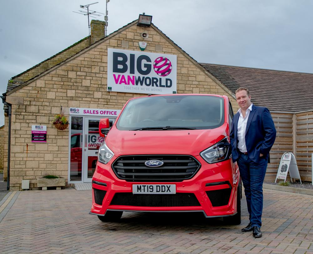 Local van business snaps up industrial site with a view to further expansion