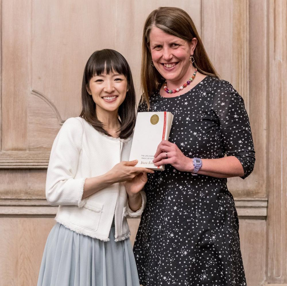 Marie Kondo and Andie Bright © Torble Photo