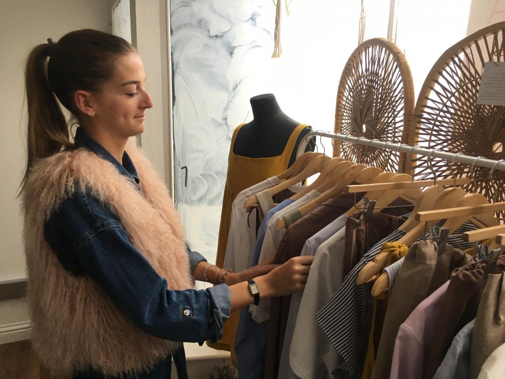 Kapada Vintage founder and owner, Ellen Wray ahead of the launch