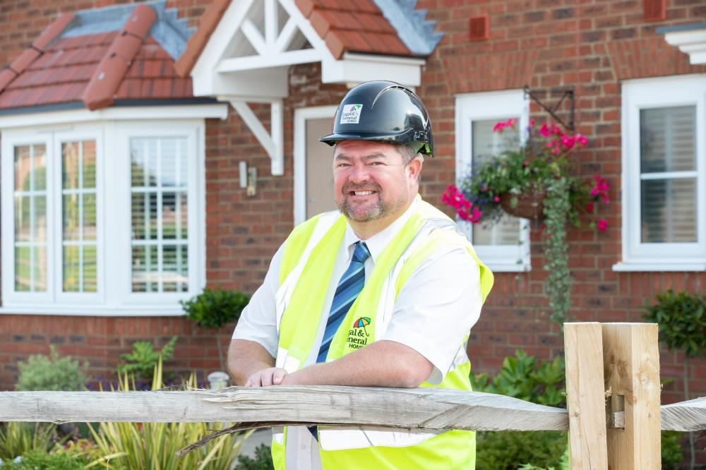 Legal & General Homes Project Manager wins 'Pride in the Job' award