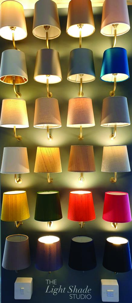 Lighting Bug Swindon offers new bespoke shade making service