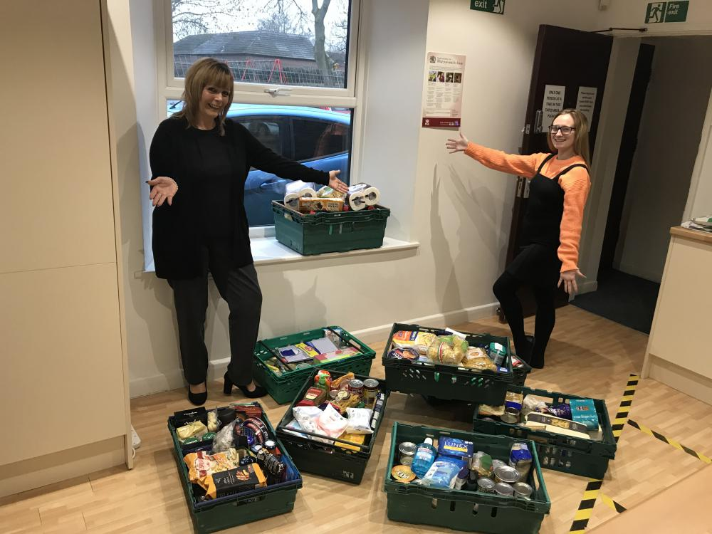 Swindon Foodbank is one of the charities helped by the Optimum team