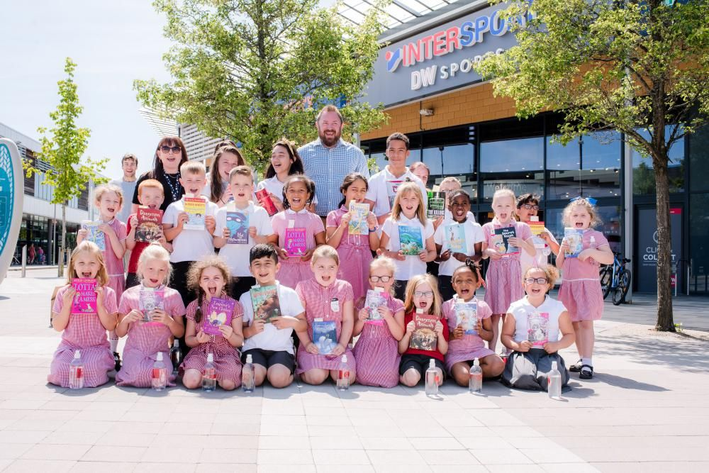 GALLERY: Orbital Shopping event inspires a love of reading in Swindon schoolchildren