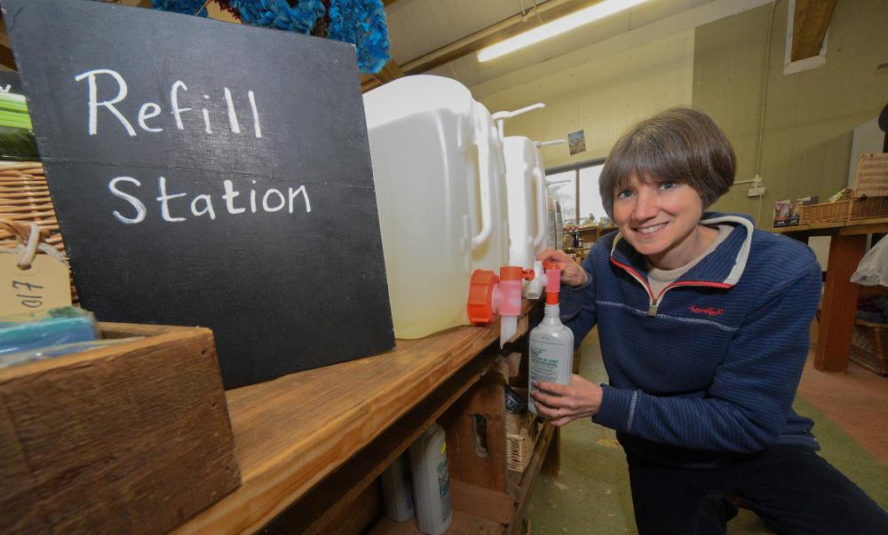 Less plastic and more composting - local farm shop steps up war on waste