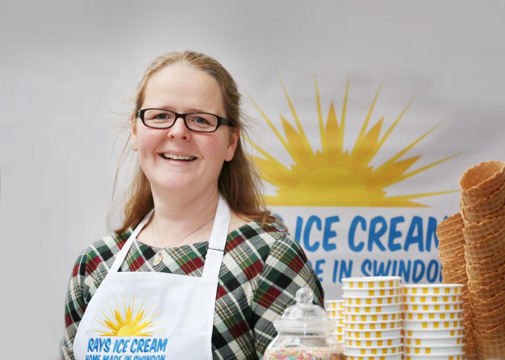 Swindon entrepreneur behind Old Town's Rays Ice Cream recognised for success