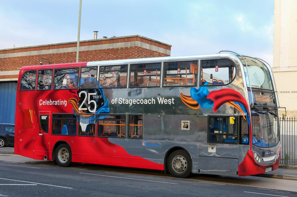 Flying high - Stagecoach West celebrates silver anniversary