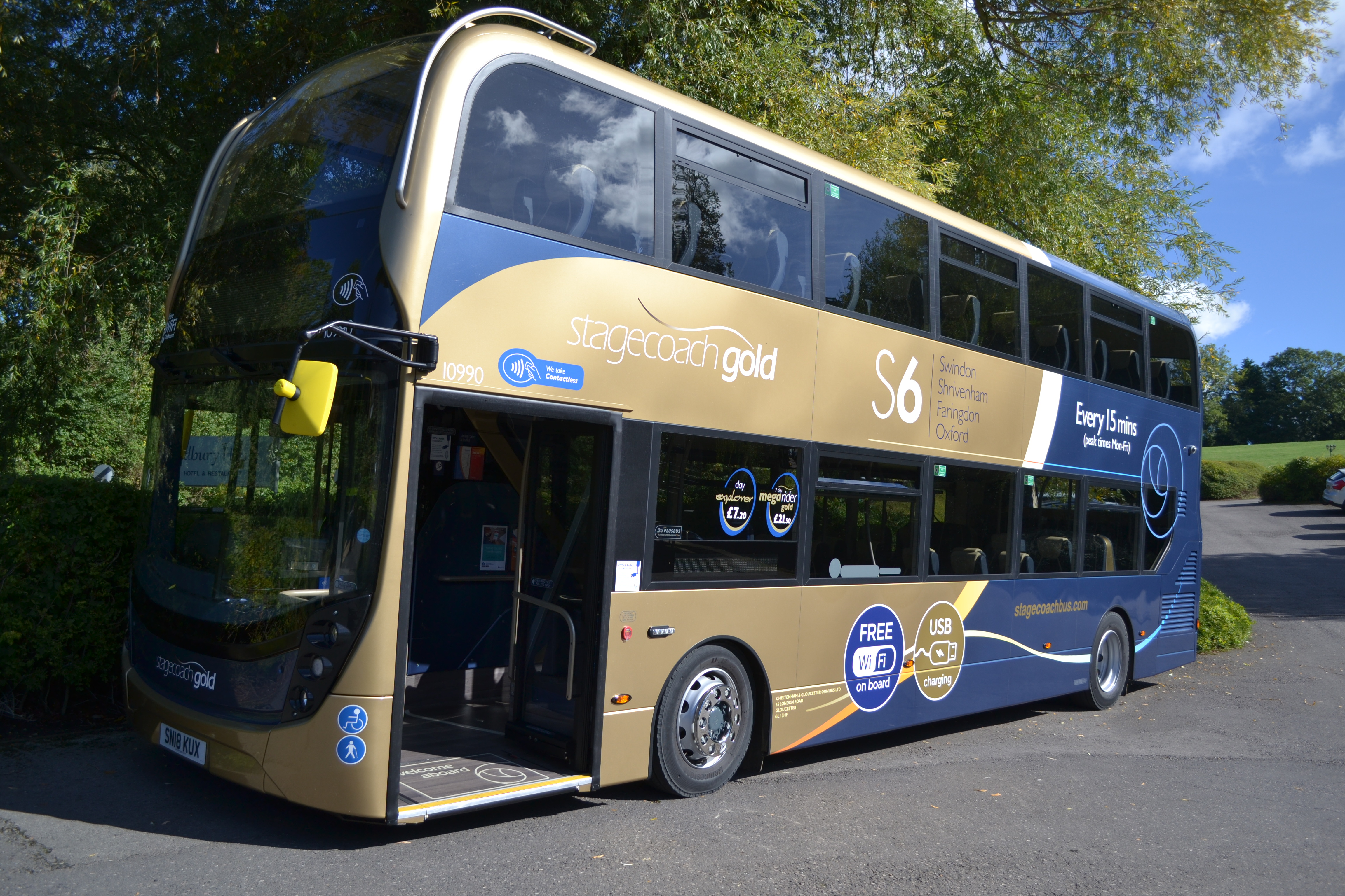 Discounted bus travel across Swindon for Clean Air Day