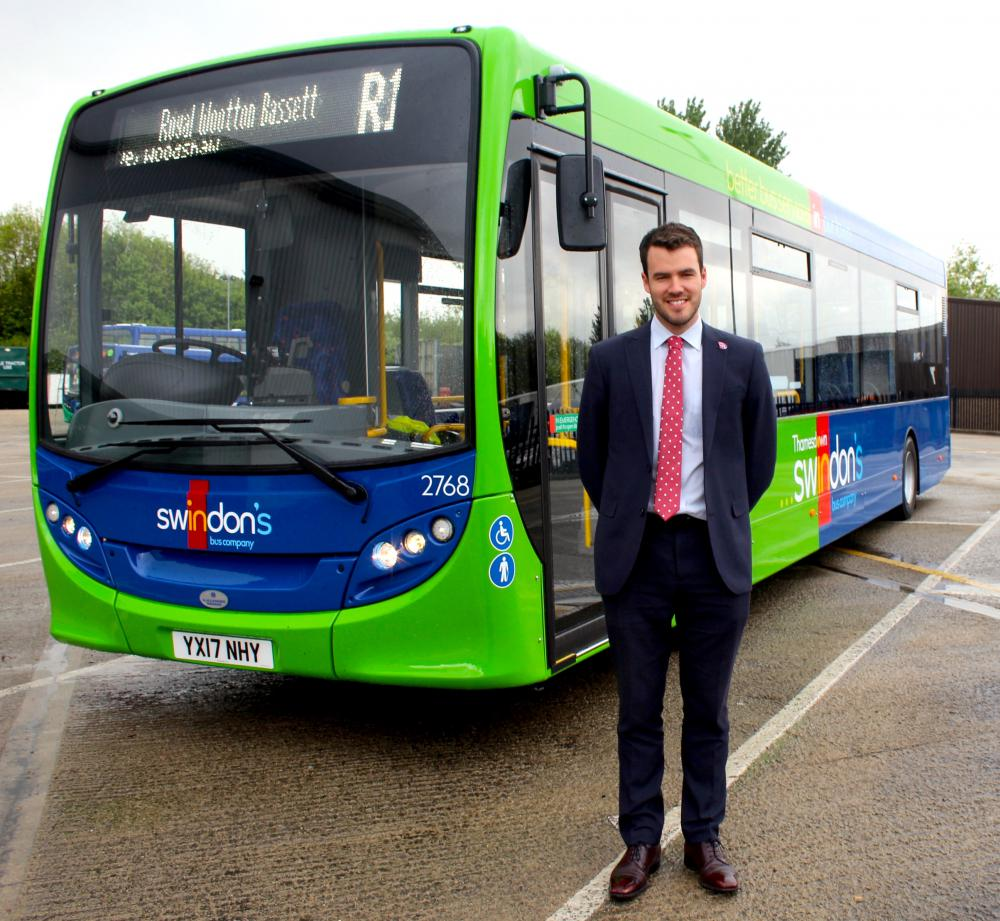 Swindon's Bus Company launches new Community Fund  to benefit worthy causes across the town