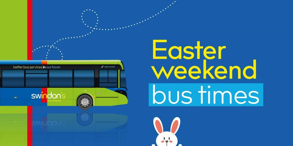 Easter Bank Holiday bus times for Swindon's Bus Company