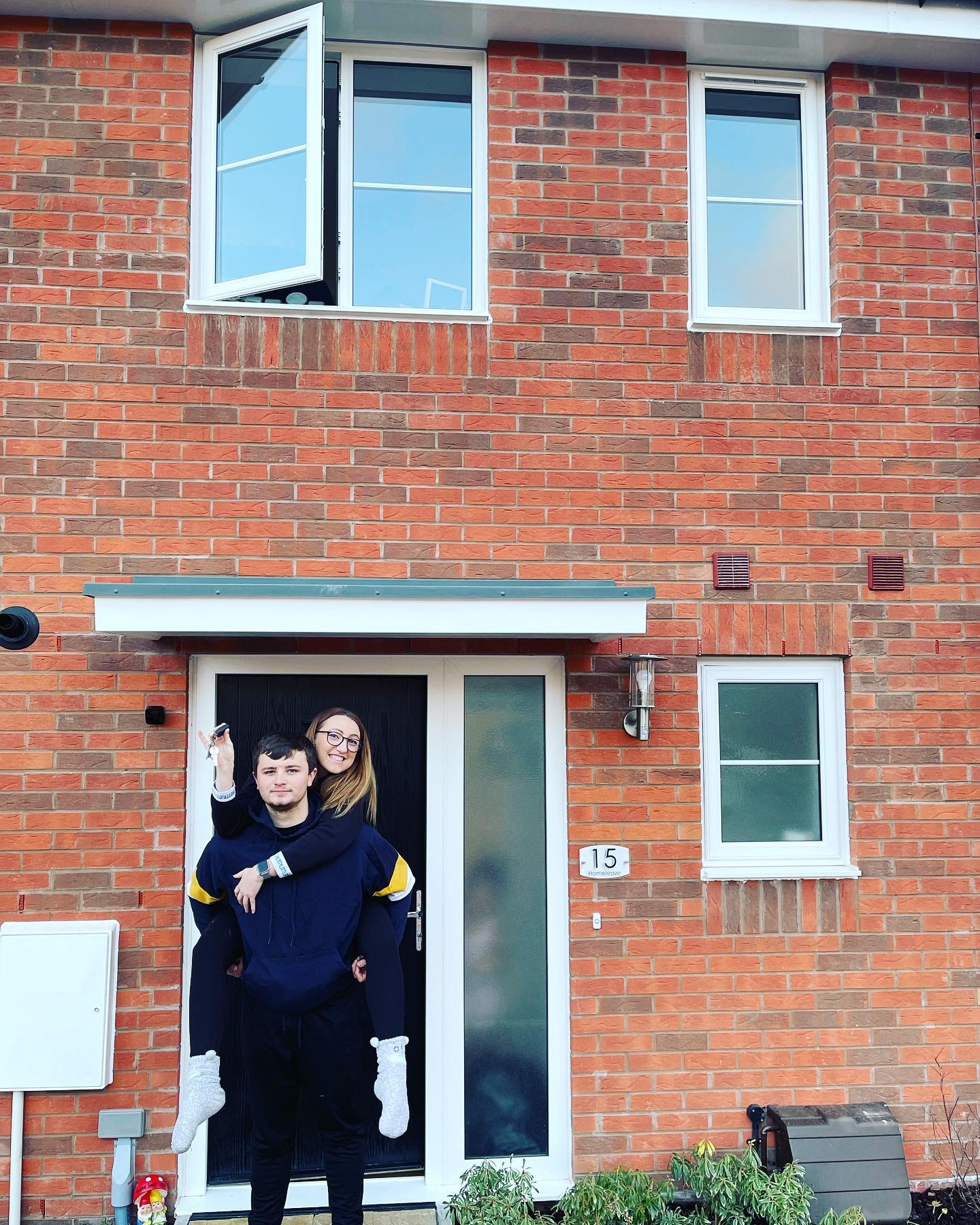 Kelsey Bird and Adam Bright say they love their new Ambrose Gardens home