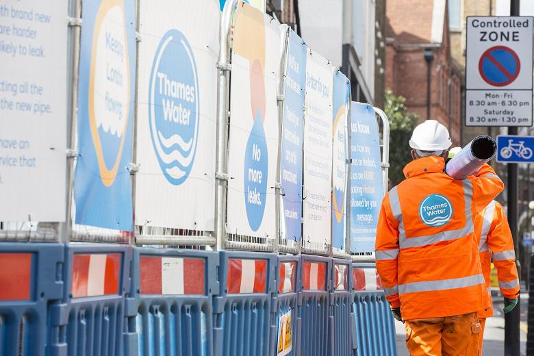 Thames Water personnel continue to perform vital tasks