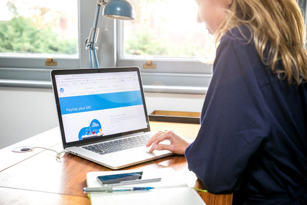 Thames Water has online resources to help customers with debt problems