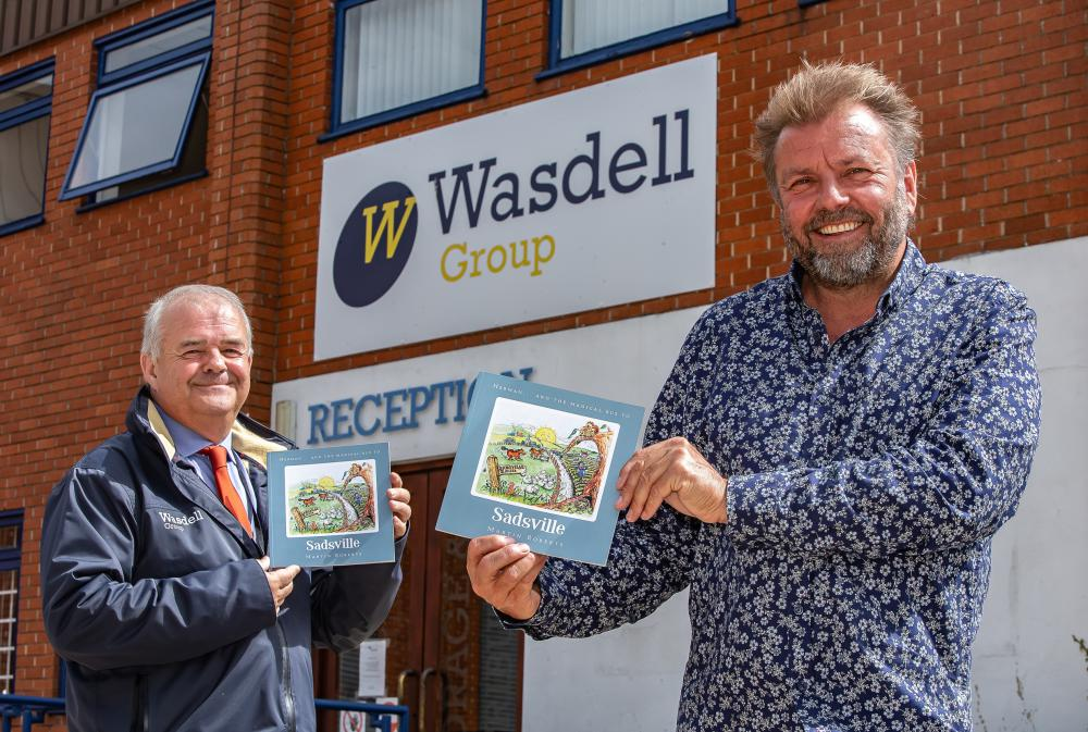 Martin Tedham, left, of Wasdell Group, and author and TV personality Martin Roberts