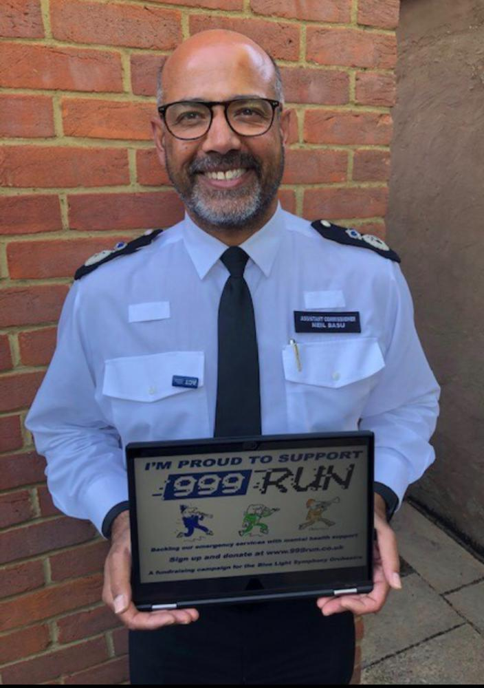 Backing the campaign, Neil Basu, Assistant Commissioner Metropolitan Police Service