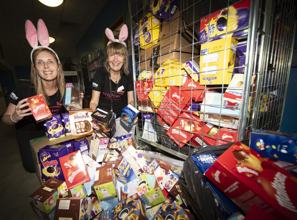 Young patients at GWH set for a bumper Easter egg haul