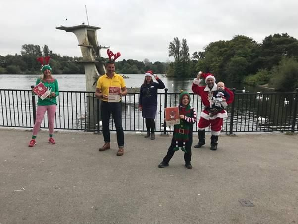 Brighter Futures and Swindon Phoenix Rotary Club launches virtual Santa vs Rudolph run for 2020
