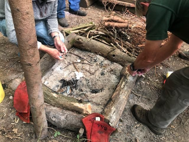 Carer Support Wiltshire Cookery Course and Bushcraft Day Help Reduce Isolation for Male Carers