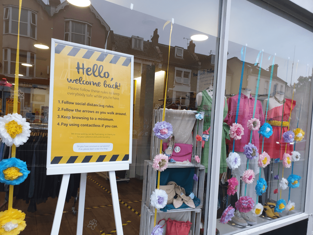 Marie Curie shop open for business again