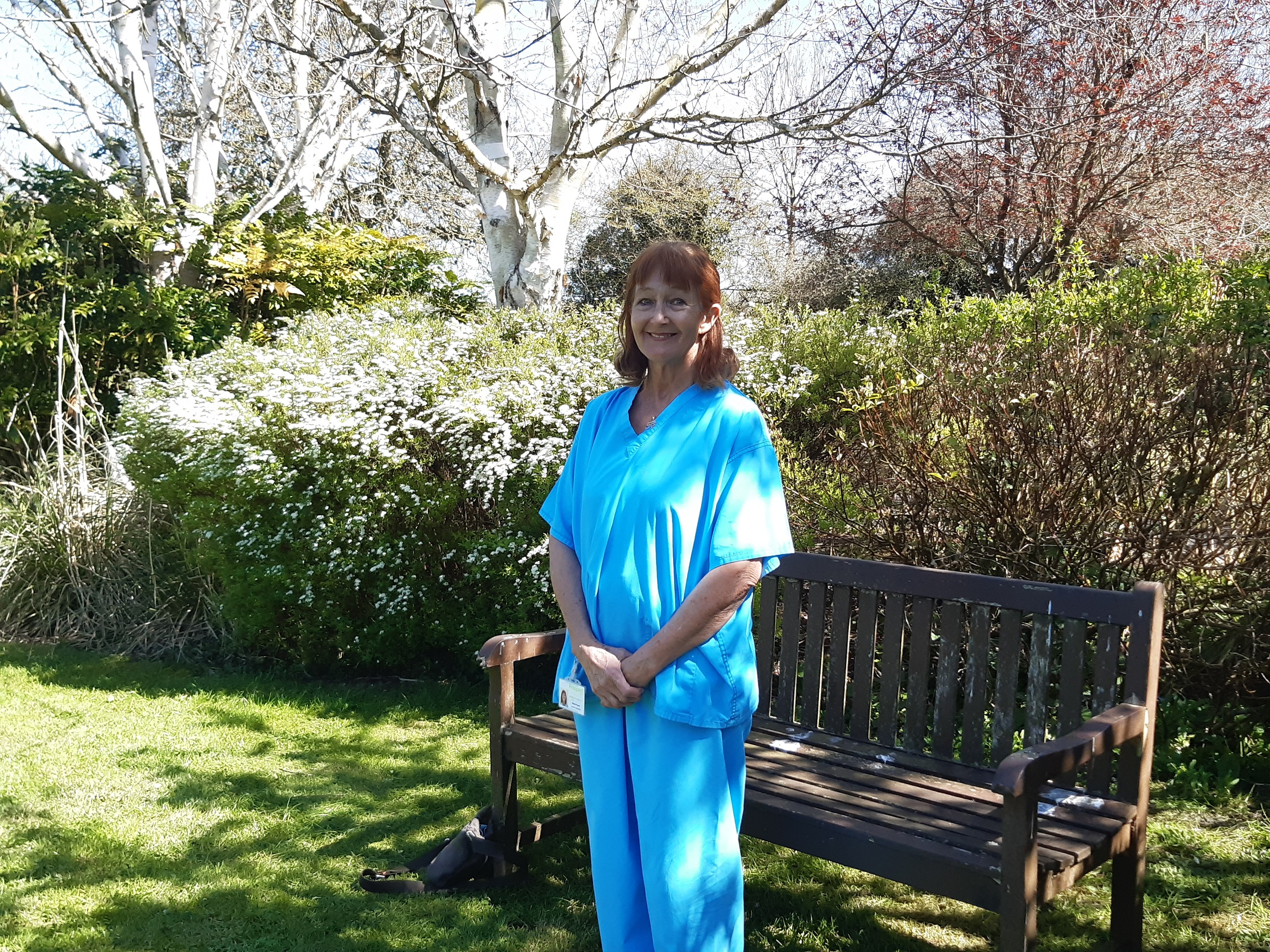 Prospect Hospice medical director Sheila Popert