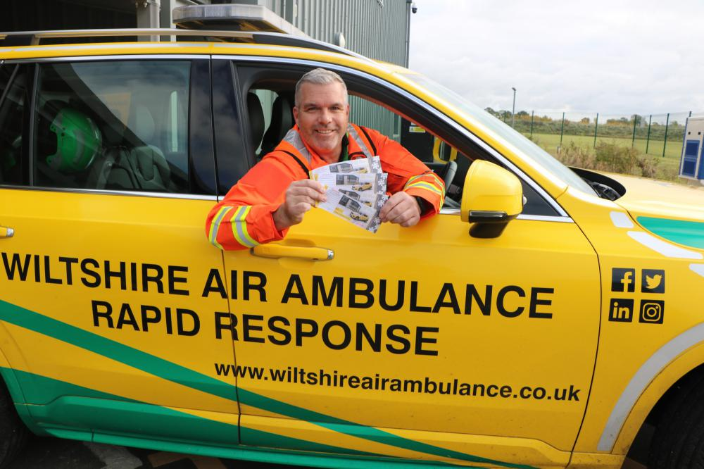 Win festive cash in Wiltshire Air Ambulance's Christmas Raffle