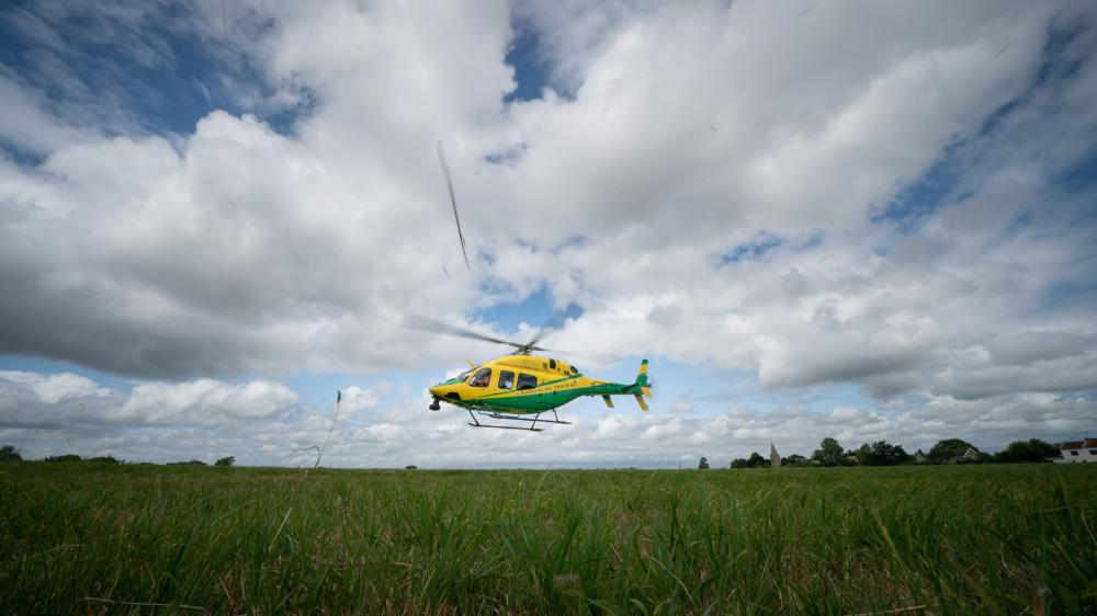 Air Ambulance called to record number of incidents in 2020