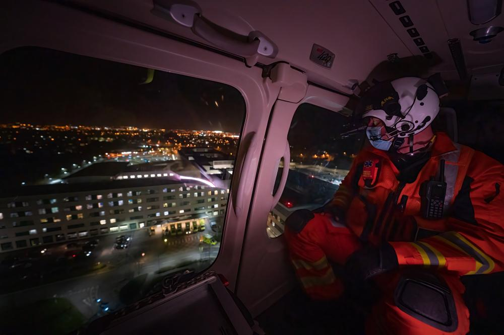 GALLERY: Life on the front line with Wiltshire Air Ambulance during a pandemic