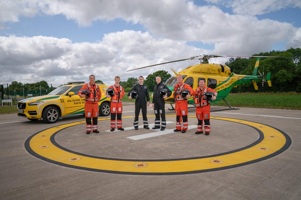 Increased demand for Wiltshire Air Ambulance in 2019 - especially in Swindon