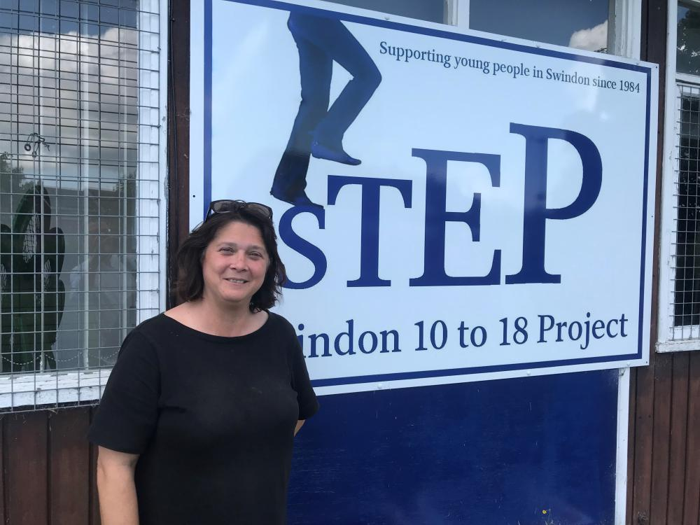 STEP Swindon project leader Johanna Bryant