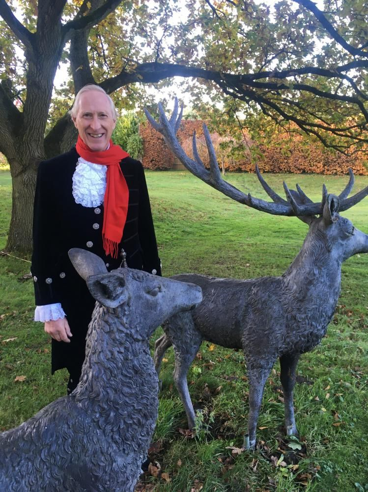 Wiltshire High Sheriff David Scott is backing the Surviving Winter campaign