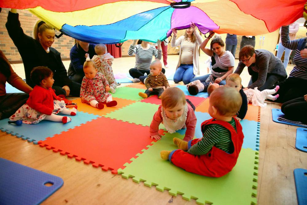 Baby College Comes to Swindon