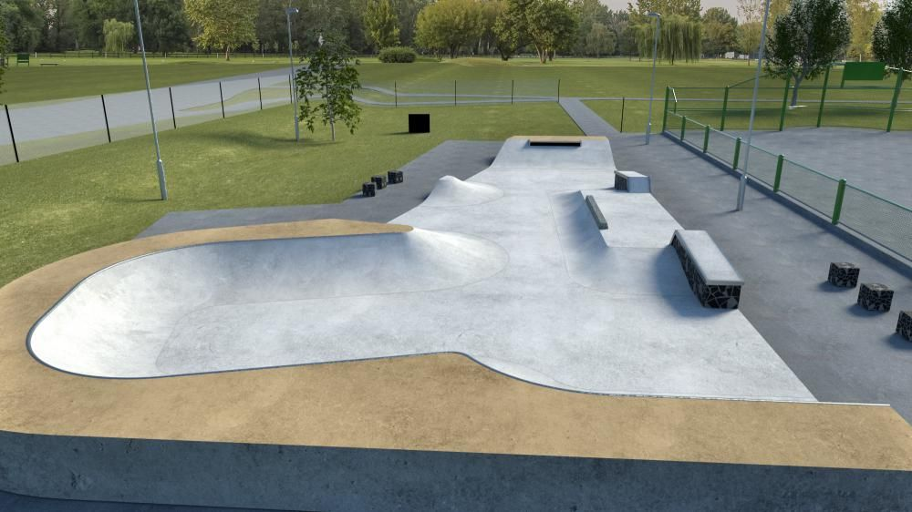 Work commences on Haydonleigh Skate Park