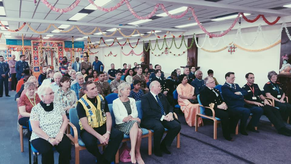 GALLERY: Swindon Hindu Temple honours armed services and emergency personnel as part of Rakshabandhan Festival