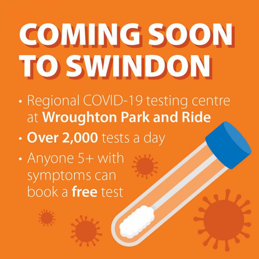 New Covid-19 test centre to open at Wroughton park and ride